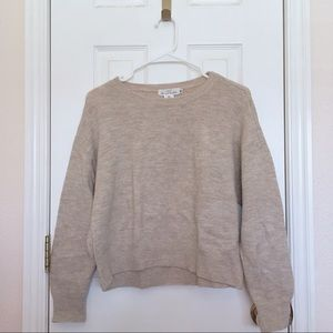 H&M Beige Sweater